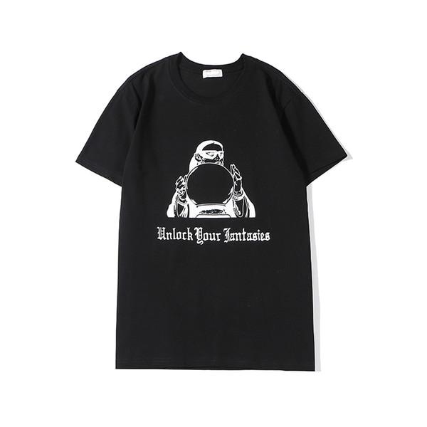 2020 T-shirt New Arrival Unisex Designer Womens luxo de manga curta Mens Marca O pescoço Tops T Oversize 2 cores impressão B105912Z Casual
