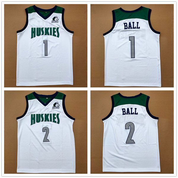best selling Chino Hills High School Huskies LaMelo Ball 1 Lonzo Ball 2 Retro Basketball Jersey Men's Stitched Custom Number Name Jerseys