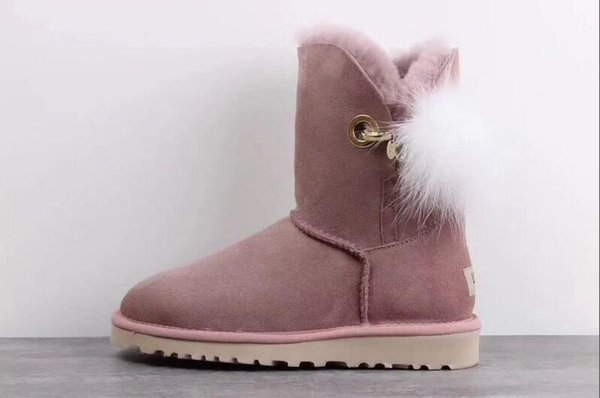 Waterproof New WGG Australia Classic snow Boots Cheap winter Knee Boots fashion discount Ankle Boots shoes many colors for woman size 5-10