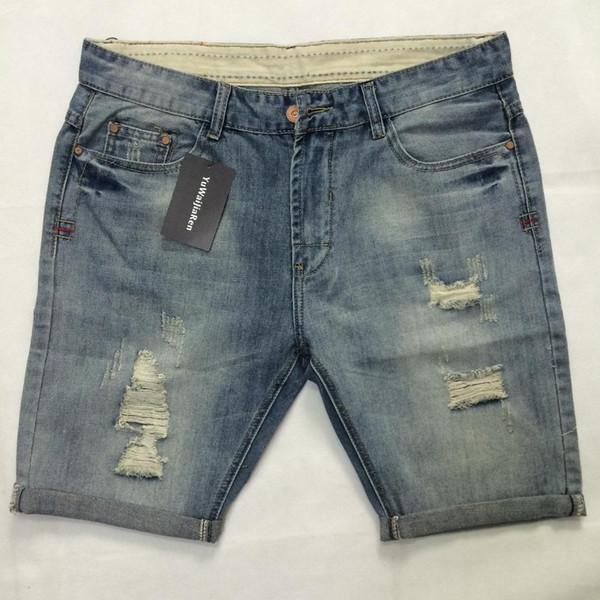 Sommer Neue Herren Shorts Hip Hop Harem Denim Jeans
