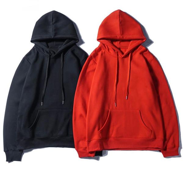 Sweat à capuche en cachemire imprimé de mode pour hommes, de la marque Boutique pour hommes, pull à capuche noir rouge et pull en velours, style rue, hommes