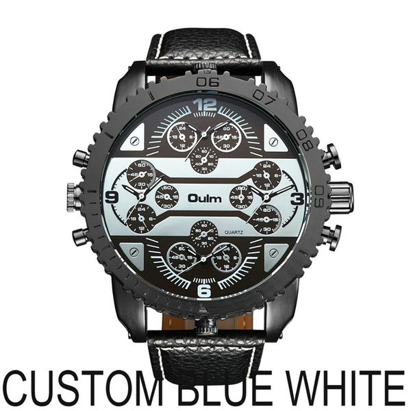 CUSTOM BLUE WHITE
