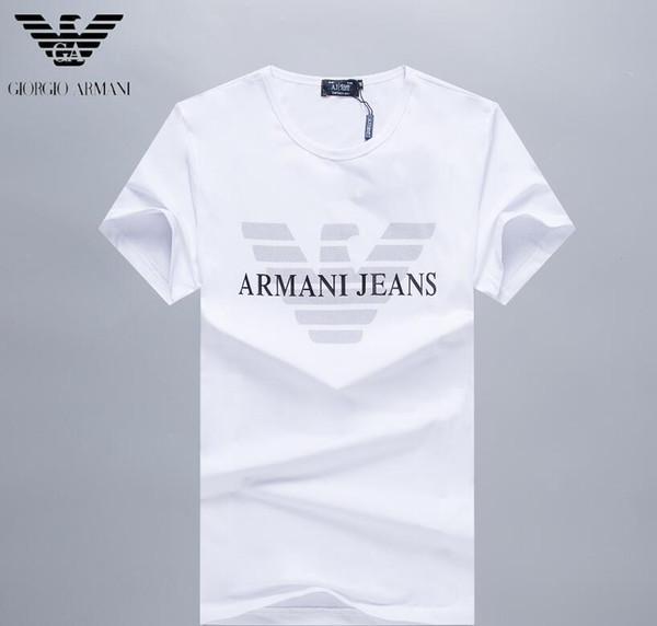 2019 Новый шаблон Свободное время мужские дизайнерские футболки мужская дизайнерская одежда марки дизайнерская одежда рубашка поло Оригинал высокого качества # 66
