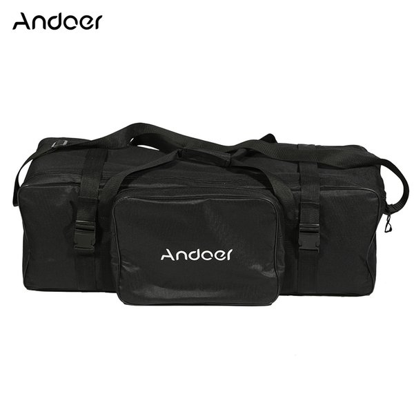 carry bag Andoer 74*24*25cm/29*9*10in Photography Studio Light Kit Padded Carrying Bag for Light Stand Umbrella Flash Lighting Equippment
