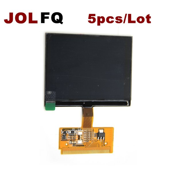 DHL Free Shipping 5PCS/LOT New VDO LCD Display for Audi A3 A4 A6 for VW with High Quality