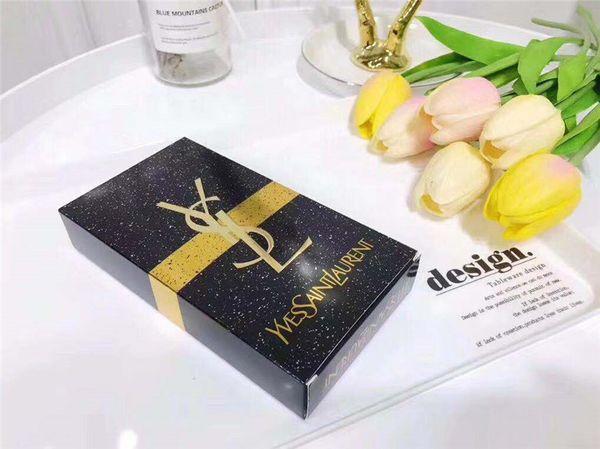 Famou y l beauty luxury brand makeup et kollection lip tick ma cara eyeliner co metic 3 in 1 kit hipping