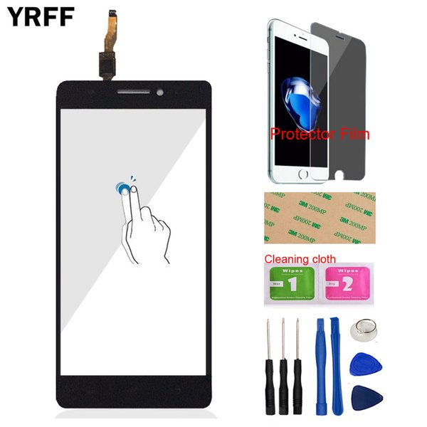 5.5'' Mobile Touch Screen For Lenovo A7000 K3 Note K50-T5 Touch Screen Digitizer Panel Sensor Tools Front Glass Protector Film
