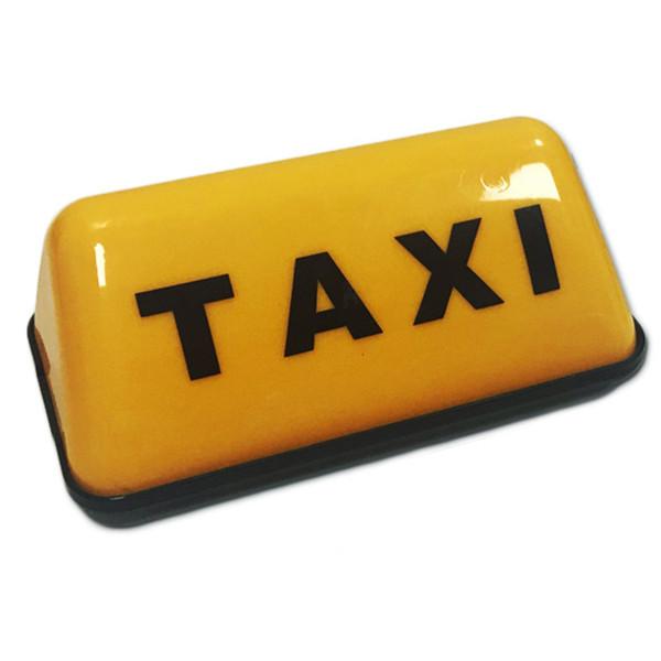 ABS Cabine 12V toit universel signe lumineux voiture Accessoires COB Led étanche Taxi Top Témoin lumineux de la lampe de signal