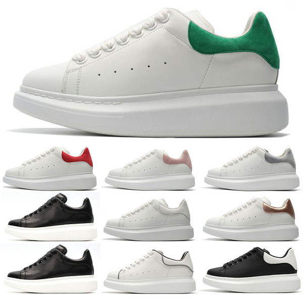 Fashion Designer 3M reflective white black leather casual shoes for girl women men pink gold red fashion comfortable flat sneakers 36-44