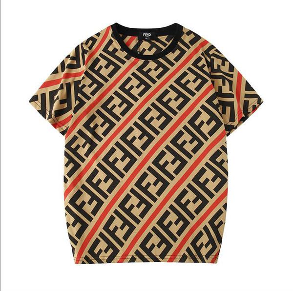 2019 İlkbahar ve yaz yeni En Çok Satanlar moda Vücudun her yerinde mektuplar printingT-shirt erkekler ve kadınlar Streetwear Severler Gömlek Moda ska