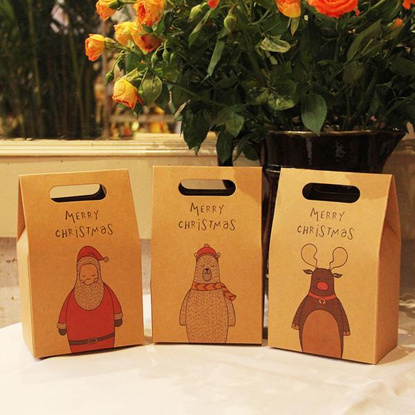 Natale Gift Box Calze Sciarpe di seta borsa Retro Cartoon Gift Box Apple Festival prodotti caldi di vendita 1mg UU