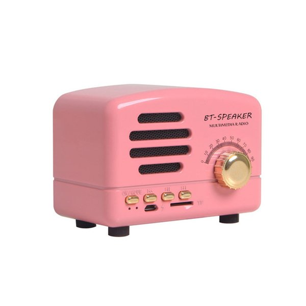 Bluetooth Support Card AM FM Portable Speaker Pocket With Rechargeable Battery Stereo Shortwave Receiver Home Mini Radio Retro