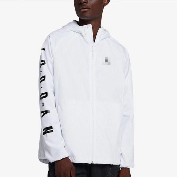 Vestes classique pour hommes Marque Sport Lettre coupe-vent Imprimer Zipper Casual Manteaux Manteaux Vestes en gros active en cours K4 B100043L