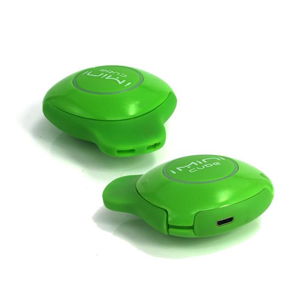 Imini Cube Kit Box Mod E Cigarette Starter Kit Portable Vape pen 550mAh Voltage Adjustable Battery 1.0ml Fully Hidden thick Oil Cartridge