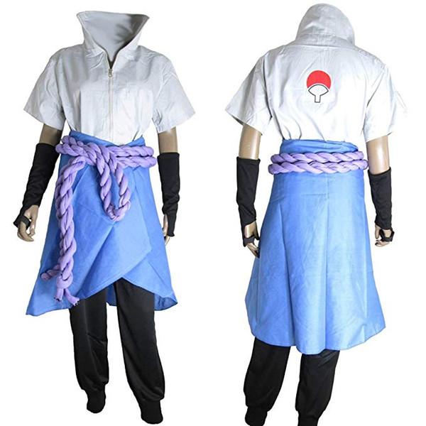 Naruto Cosplay Sasuke Uchiha The Suit Uniform Costume Japanese Anime Halloween Costumes Cute Anime Cosplay Costumes From Stylecos 5787 Dhgatecom