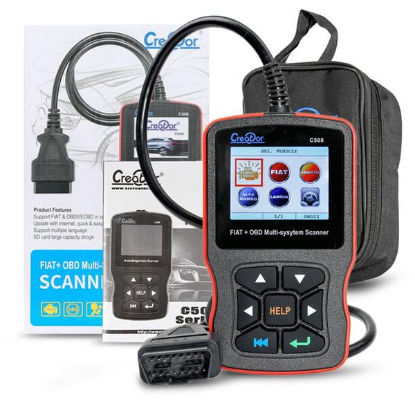 Creator C508 Code Reader for FIAT/Alfa/Abrath/Lancia OBDII/EOBD Multi-System Scanner