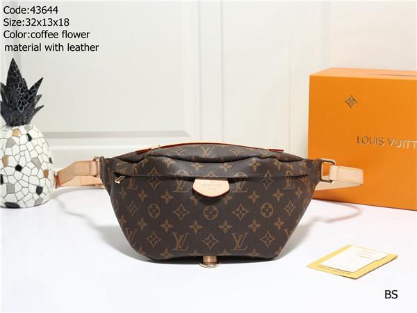 Diseñadores Bolsa de cintura para mujer para hombre del bolso LuxuryS Fannypack diseñadores pecho bolsa unisex nuevo de la manera LuxuryS bolso de la correa # 0504