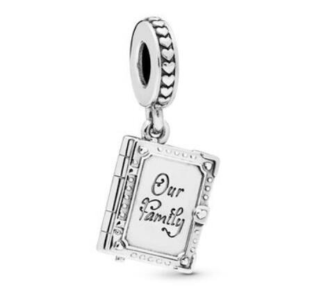 Family Book Hanging Charm