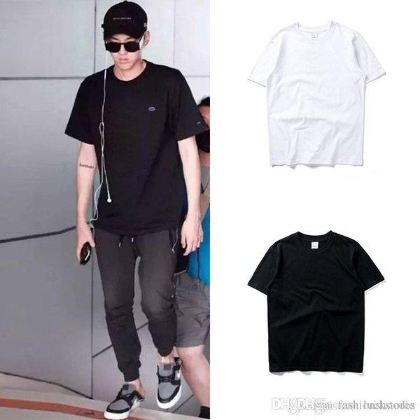 Homens Marca Designer Tshirt Moda Luxuty Carta Impressão Camisetas CAMPEÕES Homens Mulheres Casal Lazer Camiseta