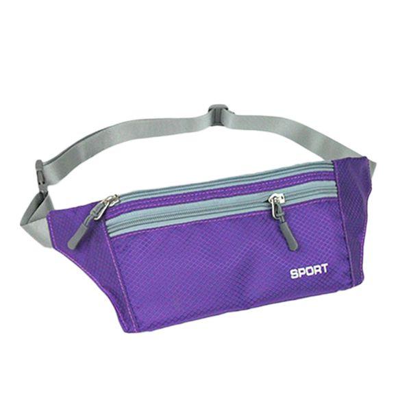 Deportes al aire libre Running Waist Bag Phone Case Pack Fanny para hombres Mujeres Jogging Gym Fitness Waist Belt Wallet Pocket 2019