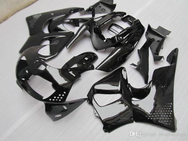 Honda CBR900RR CBR 893 1995 1997 ZXMOTOR kaportalar tüm parlak siyah kaporta kiti CBR893 95 97 YT03