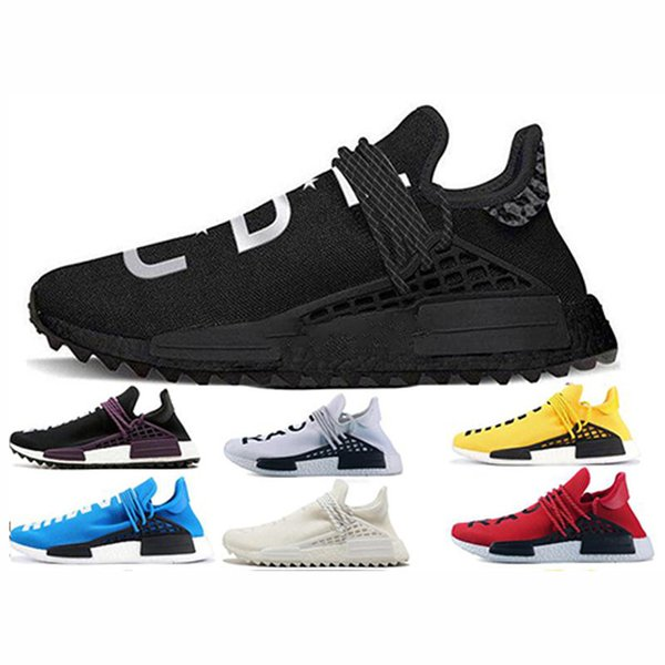 info for 536d3 6d6d7 2019 NMD Human Race Pharrell Running Shoes Solar Pack Friends And Family  Burgundy Men Women Fashion Luxury Mens Women Designer Sandals Shoes From ...