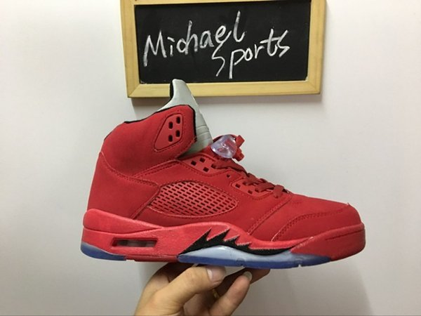 4# Red Suede