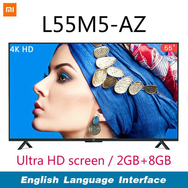Xiaomi Smart 4A 55 pollici 3840 * 2160 FHD Full HD TV con schermo HD HDMI WIFI Ultra sottile 2 GB di RAM 8 GB Rom Dolby Sound Flat TV