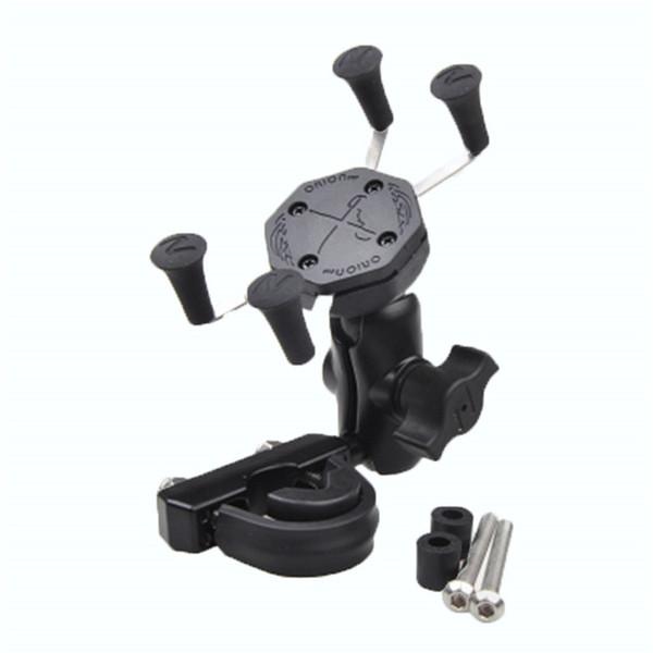 Handy verstellbare Halterungen mit Motorrad USB-Kabel Ladegerät für GPS-Telefon für Motorrad Bike Outdoor Riding Sport