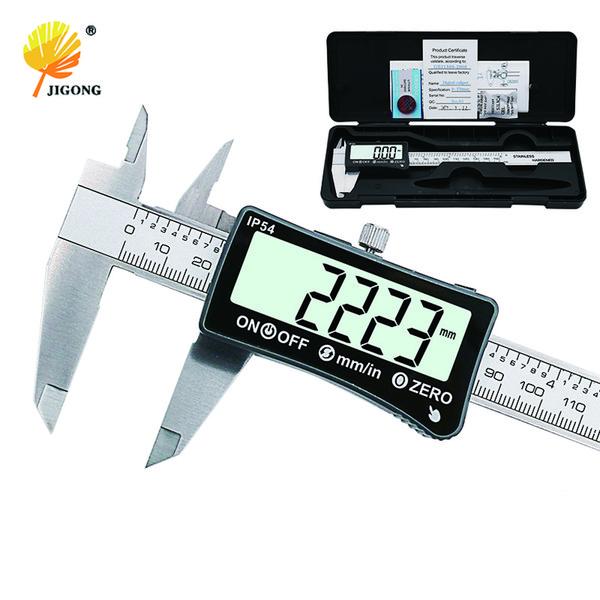 Medidor de espesor electr/ónico de calibrador de pantalla digital de fibra de carbono Herramienta de medici/ón Medidor digital de espesor Medidor electr/ónico de espesor