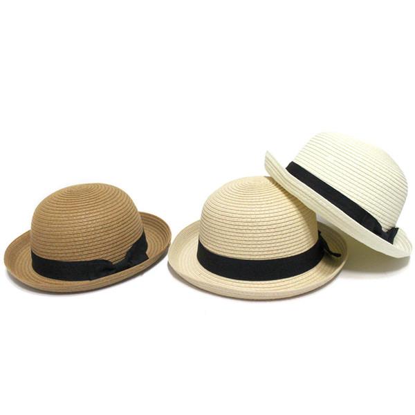 New Korean version of the outdoor sun hat dome flip hat fashion shade straw hat summer