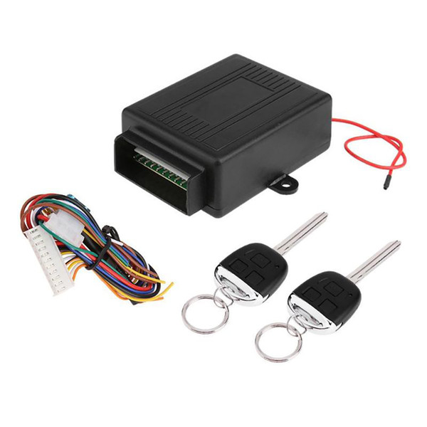 Universal Car Door Lock Locking Alarm Keyless Entry System With Remote Controllers Auto Vehicle Remote Central Kit
