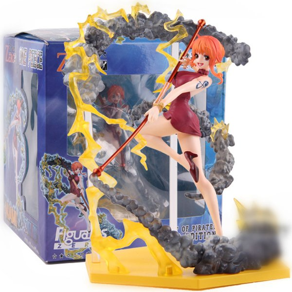 One Piece Nami Portrait of Pirates Limited Editi Sexy Anime Action Figure Art Girl Big Boobs Tokyo Japan Anime Toys Sex Adult Products