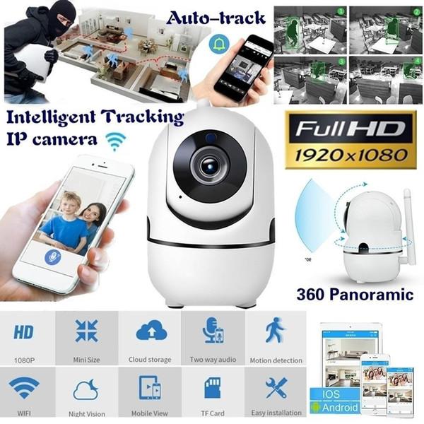 FANTEMO Baby Monitor Telecamera IP portatile 1080P HD Wireless Smart Baby Camera Audio Video Record Sorveglianza Telecamera di sicurezza domestica