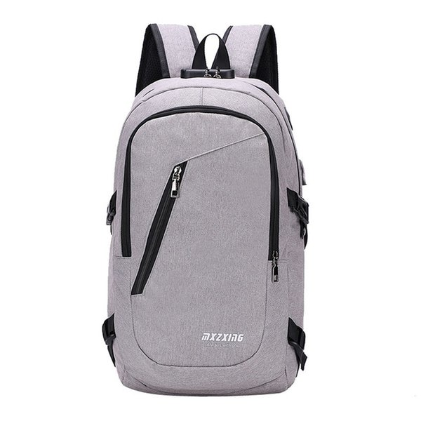 Computer Laptop Backpack For 15-16 Inches Unisex Usb Charging Men's Large Capacity Travel Bag For Teenagers Waterproof Backpack