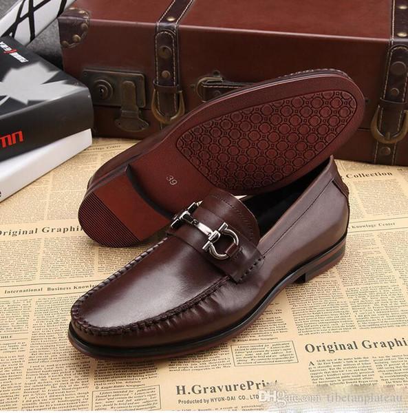 hommes chaussures en cuir véritable mocassins à la main slip on italian marque designer robe de grande taille chaussures 45