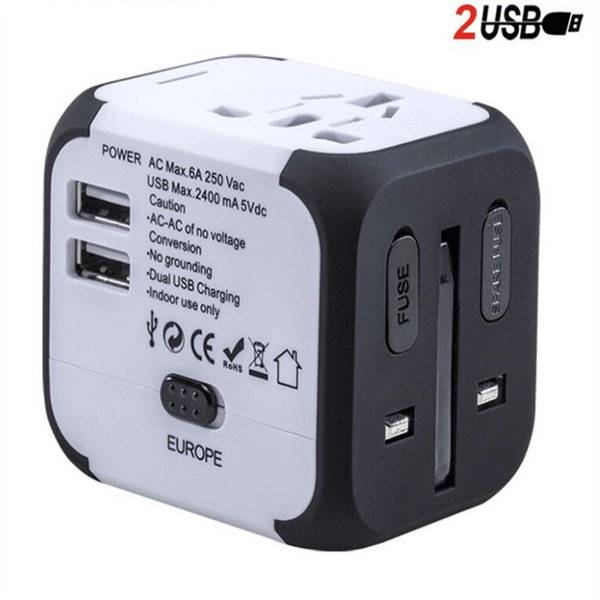 travel wall charger Adapter white