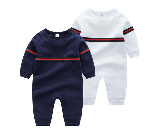 wyzq8585 / Newborn Siamese clothing cotton baby boy female baby romper long-sleeved pajamas open file spring and autumn 0-24 months baby
