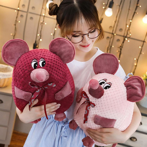 Mouse Groundhog Stuffed Animal Collectible Plush Toys Pillow Car Decoration Cute Valentine's Day Gifts Hot Toys Dolls