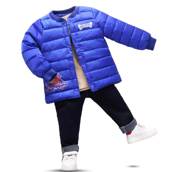 2019 Baby Girl Winter Clothes Outfit Jacken Wholesale Clothing Jackets And Coat Autumn Long Sleeve Toddler Kids For Girls