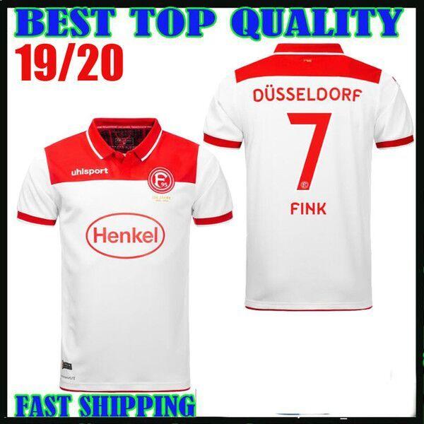 Grosshandel 19 20 Fortuna Dusseldorf 125 Jahriges Jubilaum Fussball Trikot Heim 2019 2020 20 Lukebakio 5 Ayhan 27 Kownacki Fink Fussball Trikot