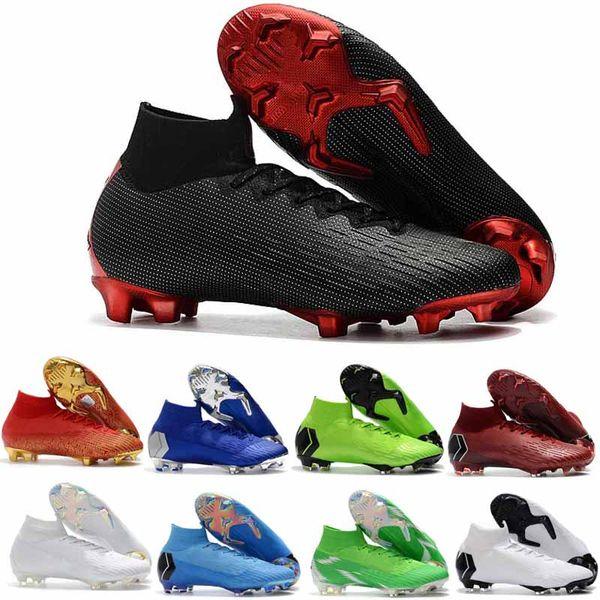 2020 Mens Soccer Boots Cristiano Ronaldo Football Shoes Outdoor