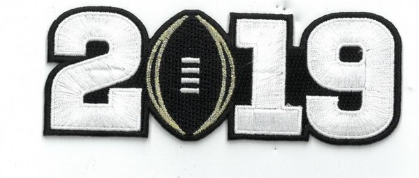 2019 patch white