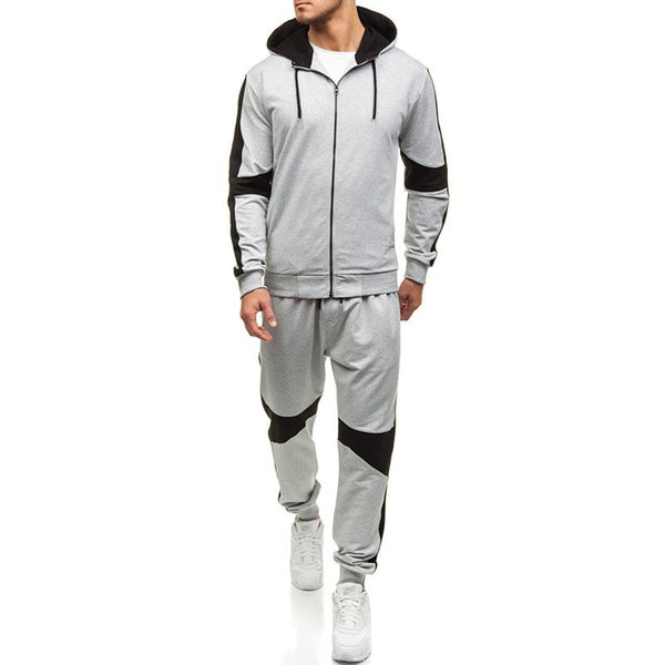 2019 New Mens Survêtement Hommes À Capuche Haute Qualité Vêtements Pour Hommes Sweat Pull-over Casual Tennis Survêtements De Sport Survêtements Costumes