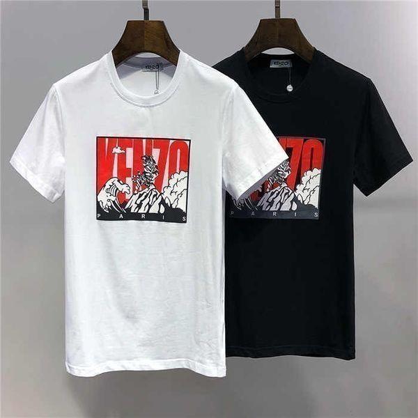 2019 novo high-end moda masculina de manga curta de lapela T-shirt POLO camisa 060771