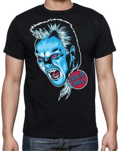 The Lost Boys 80's Vampire Hunter Film Zwei Coreys Santa Carla Abenteuer T-Shirt Baumwolle Herren T-Shirts Klassisches Top-T-Shirt
