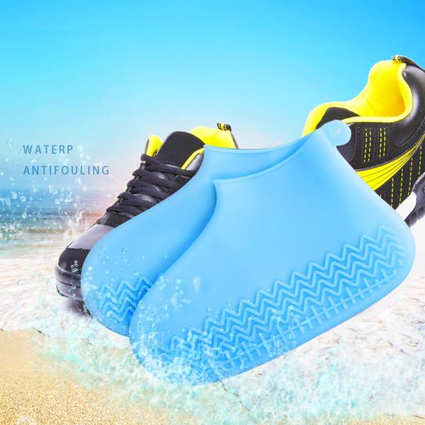 Imperméable Chaussures Botte Silicone À Couvre Lavable Couvrent Glissant Légère Acheter En La Protection Pliable Non Doux Pluie PkTZlOiXuw