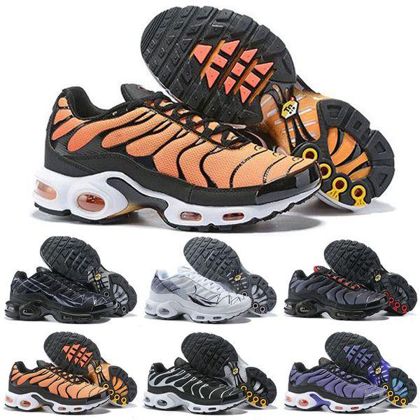2019 Nuovo TN Designer Plus SE Confezione Mens Running Shoes Wmns Sport Run Trainer Moda Nero Bianco Sport Sneakers