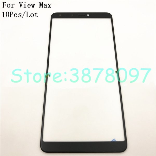 10Pcs/Lot High Quality 5.99 inches Front Touch Screen Outer Glass Lens Repair Replacement For Wiko View Max Touchscreen