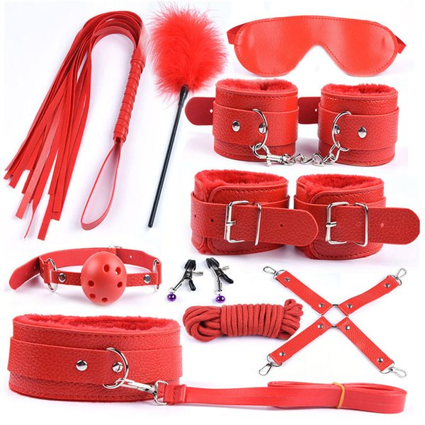 leather red